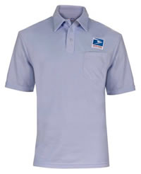 Ladies' USPS Letter Carrier Polo Knit Shirt