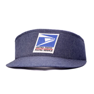 Postal Uniform Sun Visor for Letter Carriers