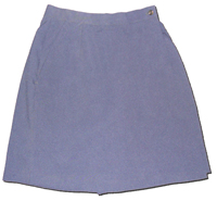 Ladies' USPS Retail Clerk Postal Uniform Navy Skort