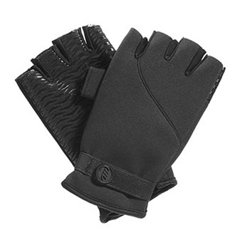 HALF FINGER NEOPRENE GLOVES BREATHABLE LINING